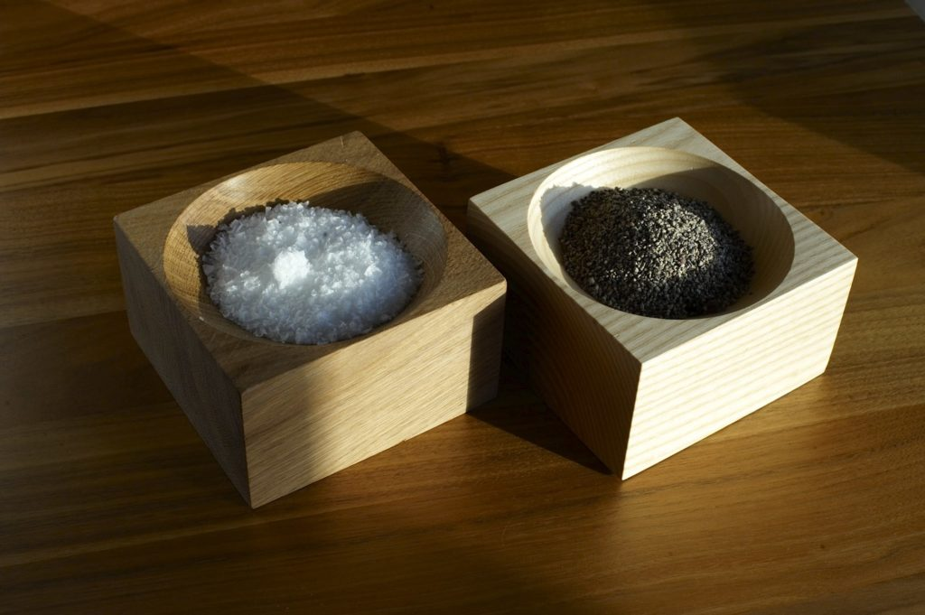 Dominic Ash slat pots