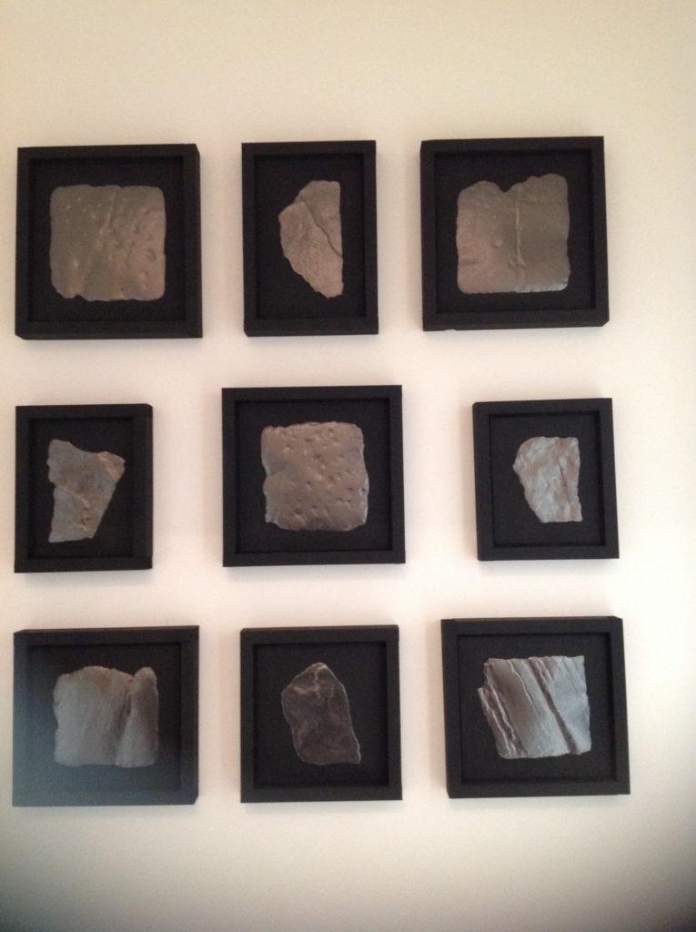 Tom Baskeyfield Stone rubbings