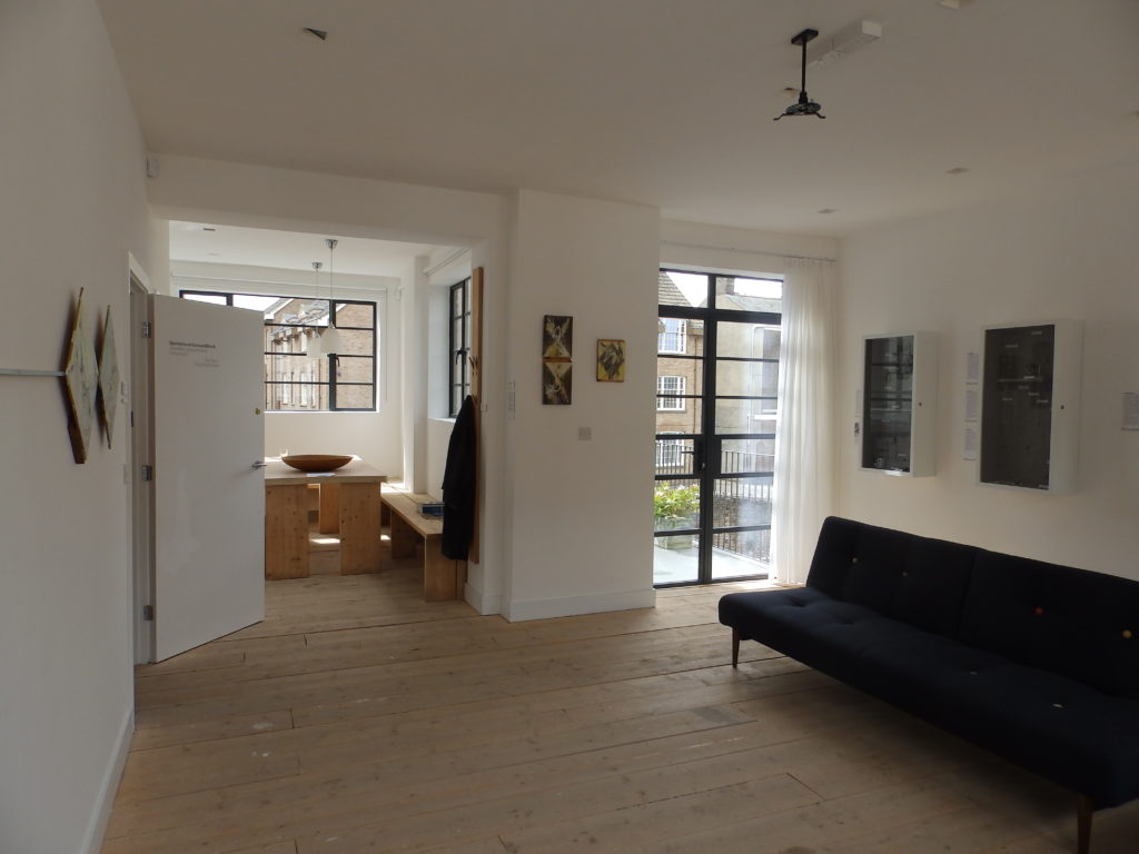 First floor gallery and apartment