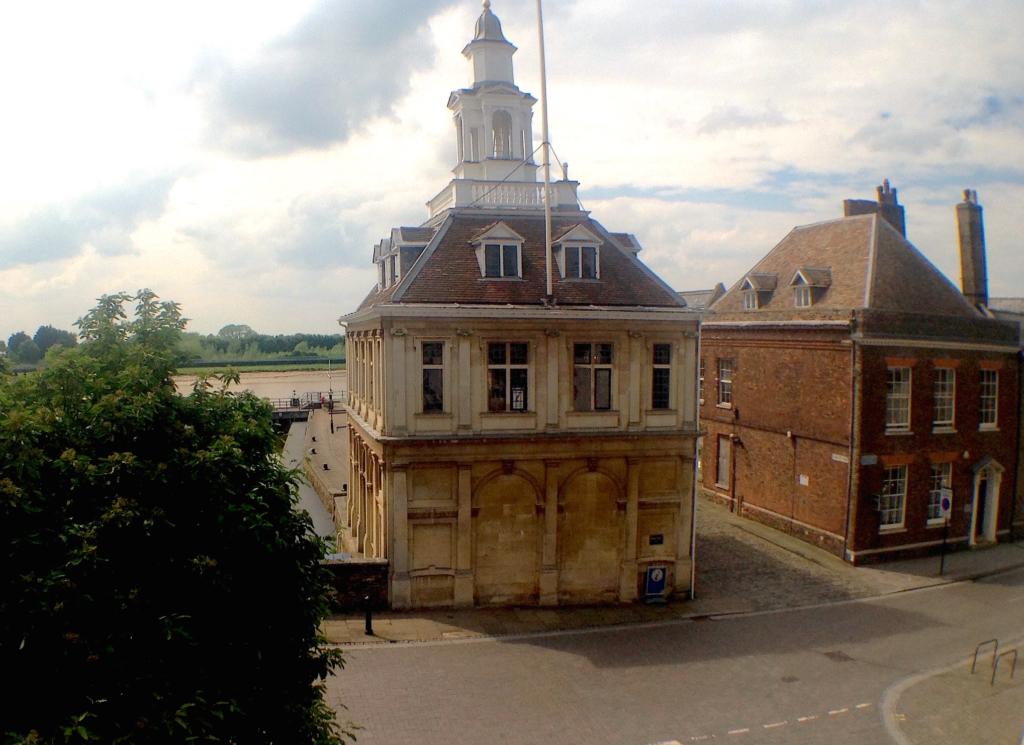View of the Custom House taken from the Penthouse at GroundWork
