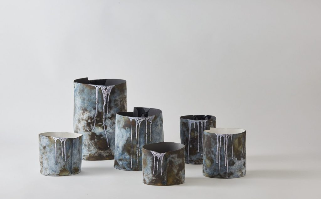 Hilary Mayo Iceland inspired vessels