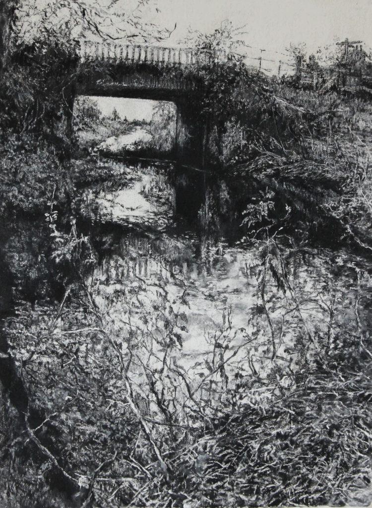 Outfalls: Tarlo & Tucker. Louth Canal drawing Judith Tucker