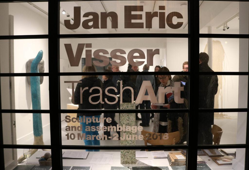 Trash Art Jan Eric Visser window