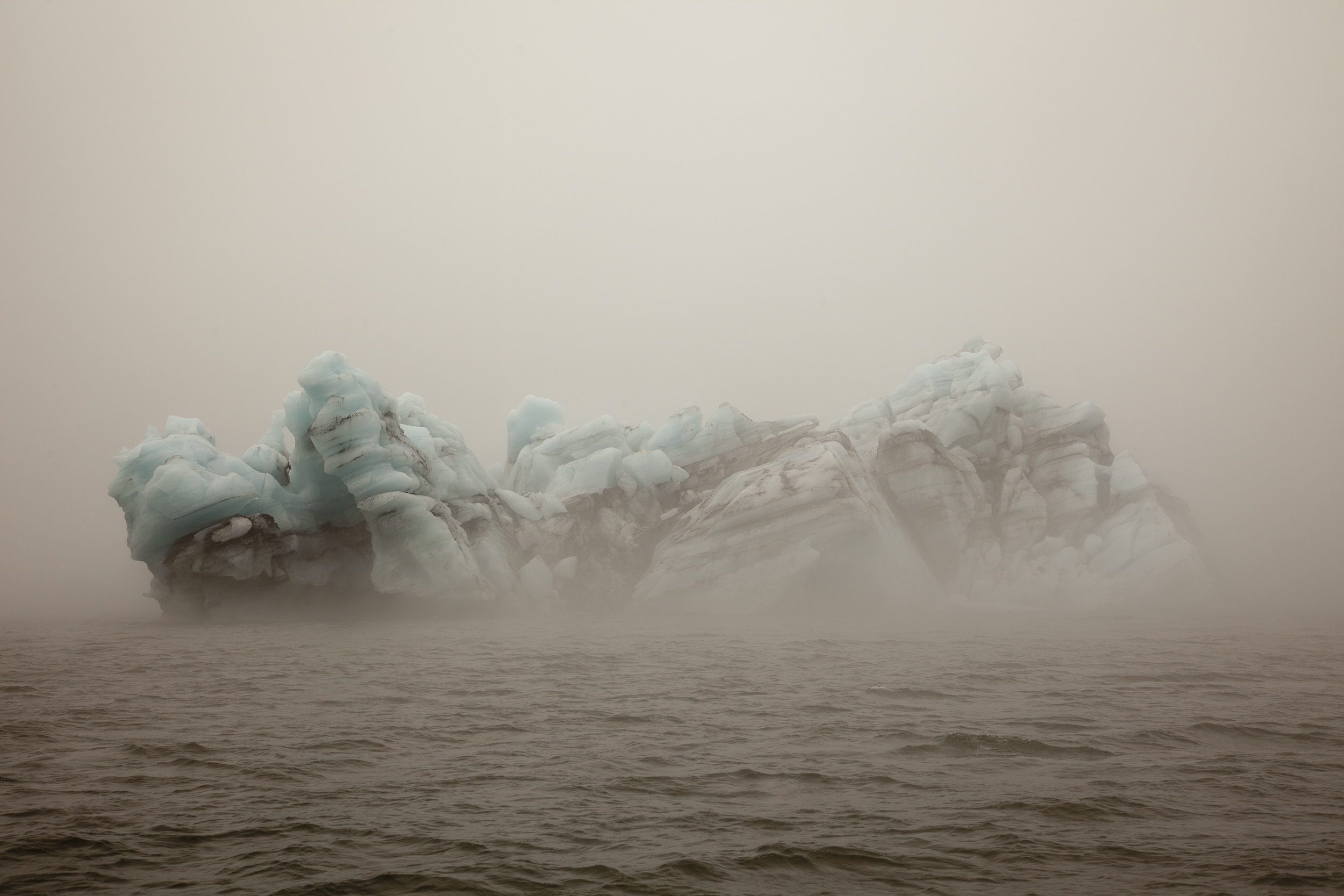 Gina Glover, Water held by the cold, Disko Bay Greenland