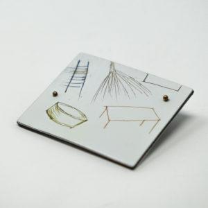 Judy McCaig: Floating Pin