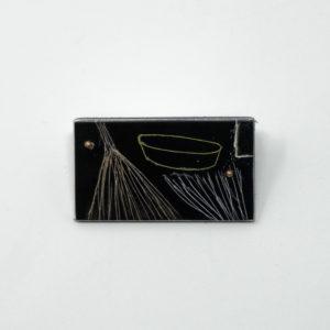 Judy McCaig Floating reeds pin