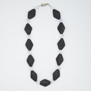 Linda McFarlane: Lava and Opalite Necklace