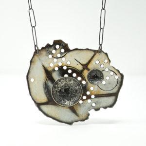 Amanda Denison Pierced Island Necklace