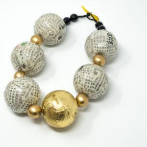 Kirsten Sonne: Japanese Paper Necklace