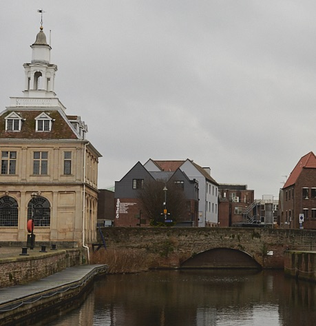 Kings Lynn town view