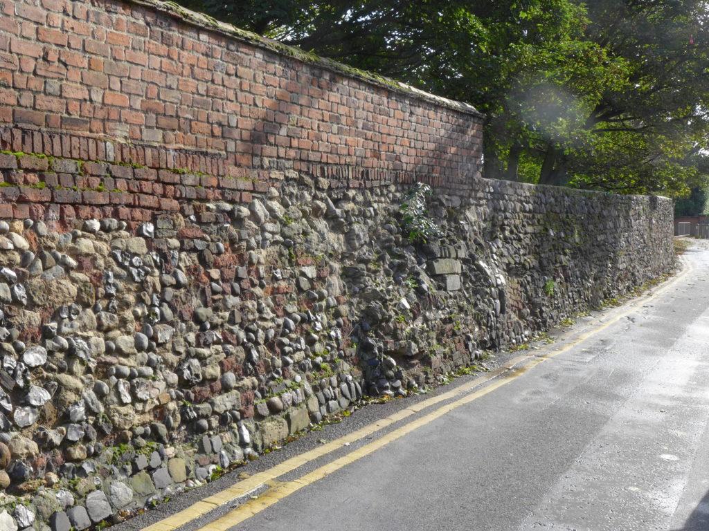Wyatt Street town walls
