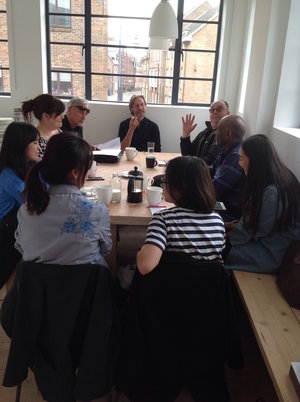 About GroundWork Gallery: Seminar with Creative Entrepreneurship students