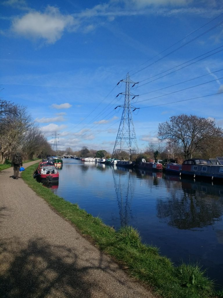 Running and environment Clio Heslop Canal run view
