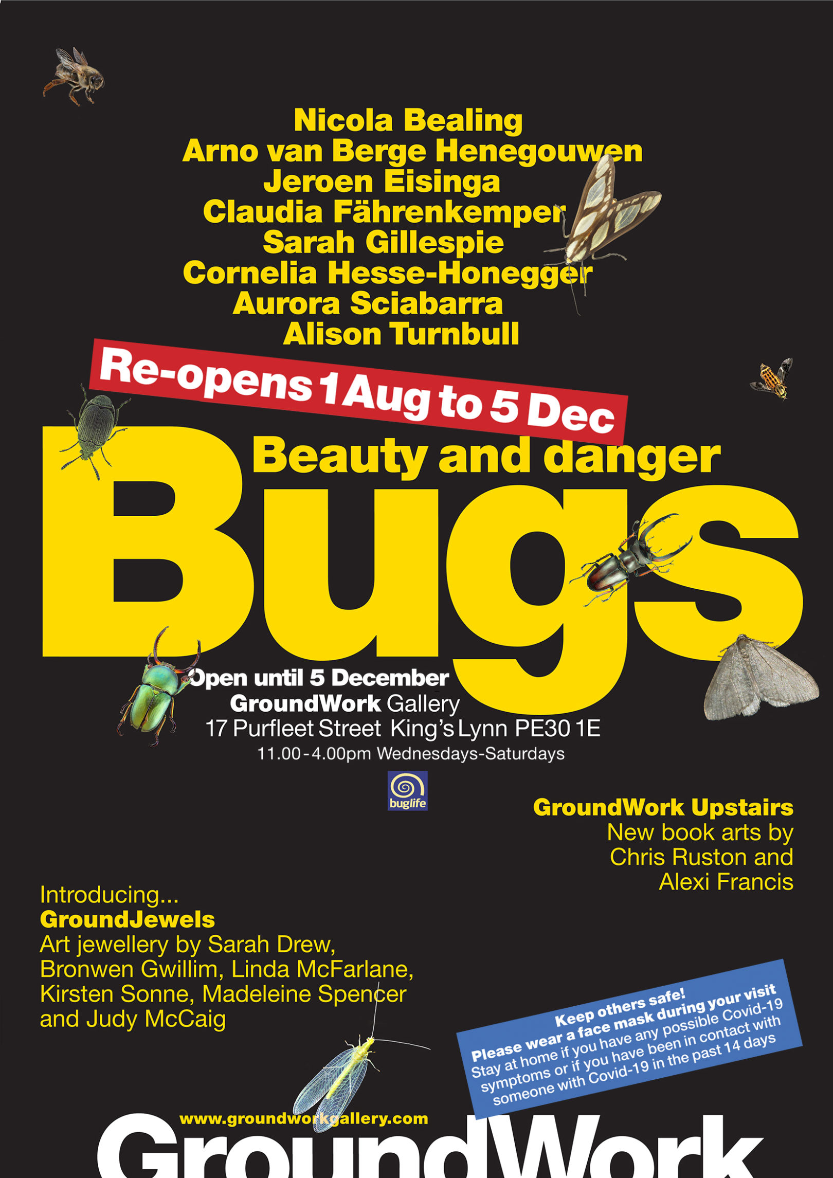 Bugs reopening poster