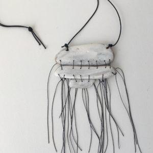 Helga Mogensen stacked pendant