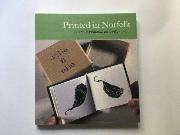 Coracle Press printed in Norfolk