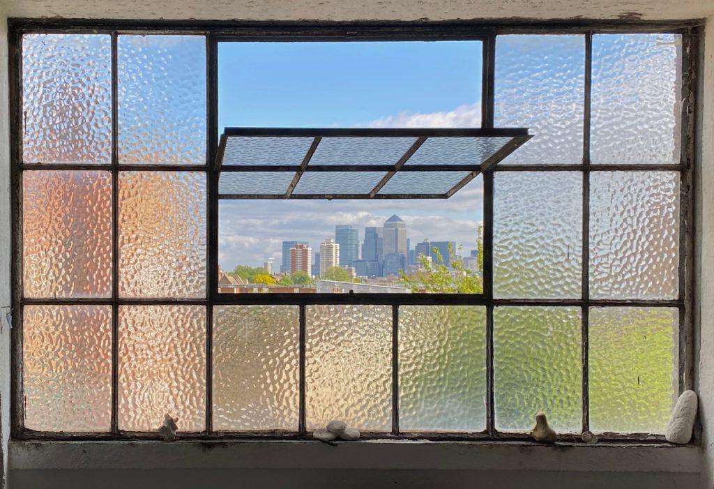 Sam Hodge studio window
