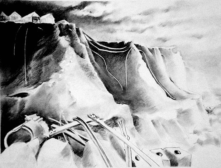 Jayne Ivimey cliffs 7