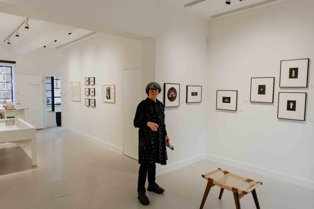 ErnaGotyar viw of gallery with Veronica Sekules
