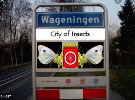 Wageningen city of insects