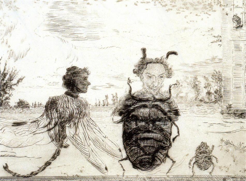 James Ensor Strange insects