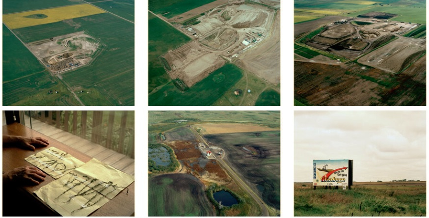 Sarah Christianson Dakota oil sites and oil spills