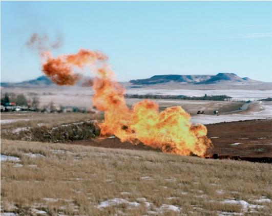 Sarah Christianson oil flare