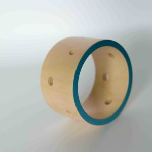 Blue and Yellow Sycamore Bangle