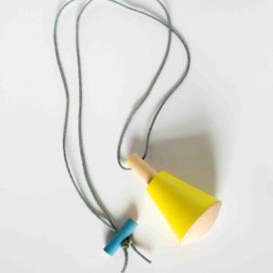 Jane Sedgwick Yellow Buoy pendant