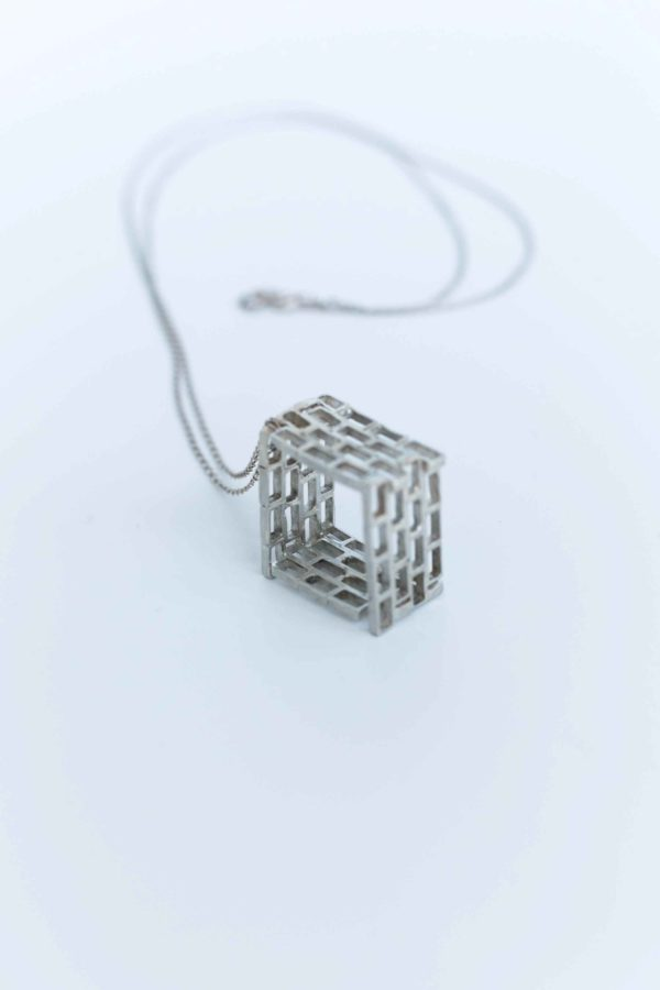 Brickwork Ring-Pendant