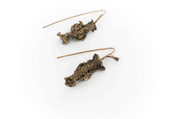 Apple Core Earrings