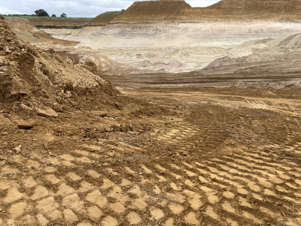 Extraction and the edge: Sibelco Kings Lynn quarry