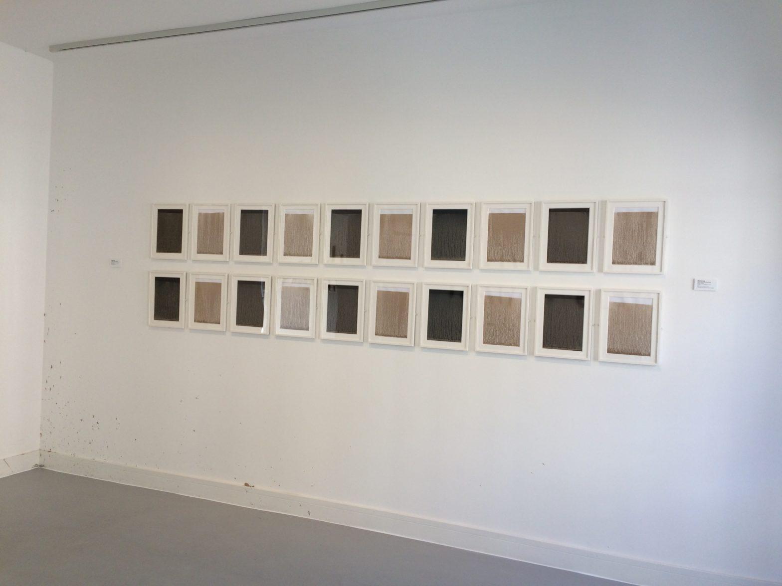 Richard Long, River Avon Drawings 2014